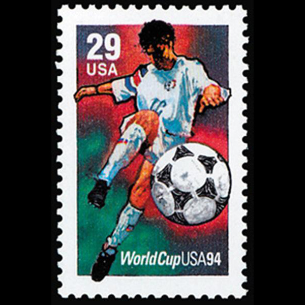 1994 29c World Cup Soccer Mint Single