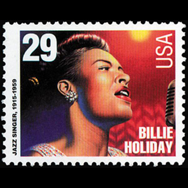 1994 29c Billie Holiday Mint Single