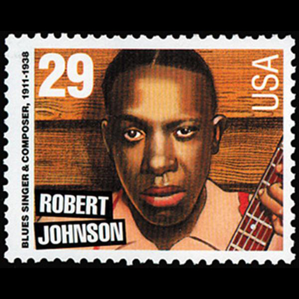 1994 29c Robert Johnson Mint Single