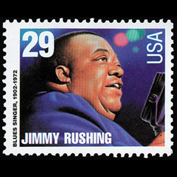 1994 29c Jimmy Rushing Mint Single