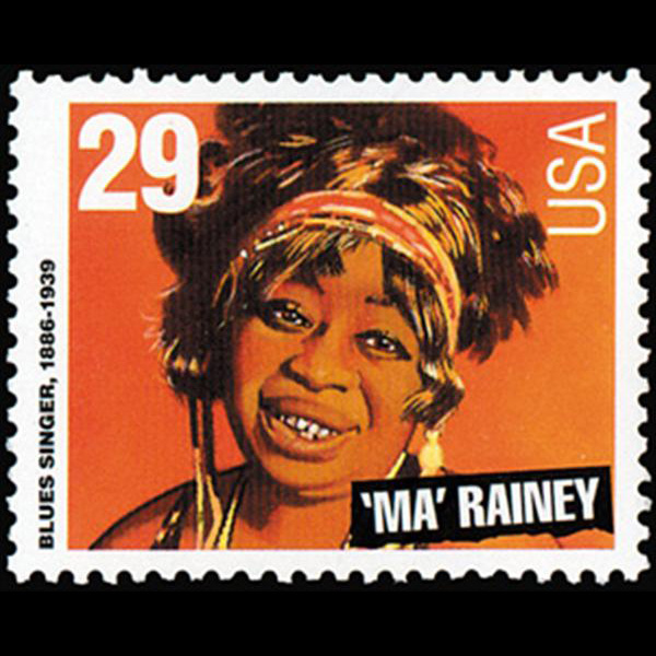 "1994 29c ""Ma"" Rainey Mint Single"