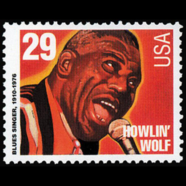 1994 29c Howlin' Wolf Mint Single