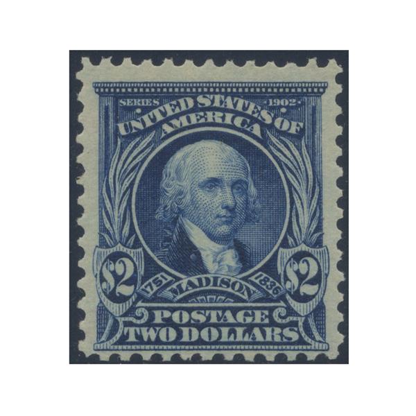 1903 $2 Madison, FVF Mint OG