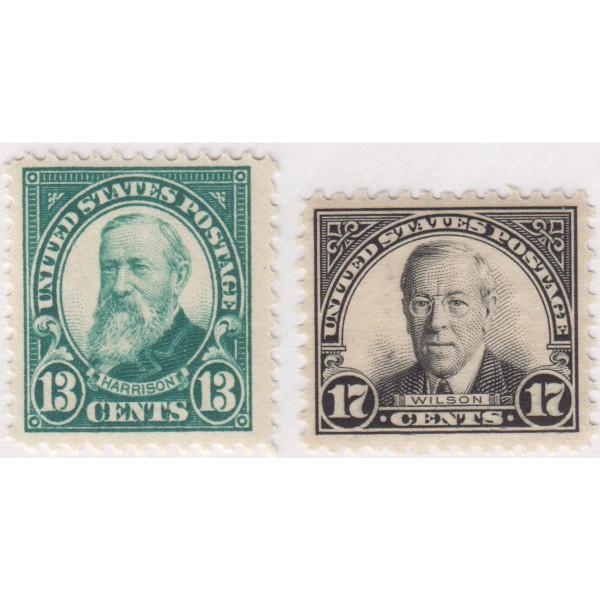 1925-26 Flat Plate Printing Perf. 11, Mint