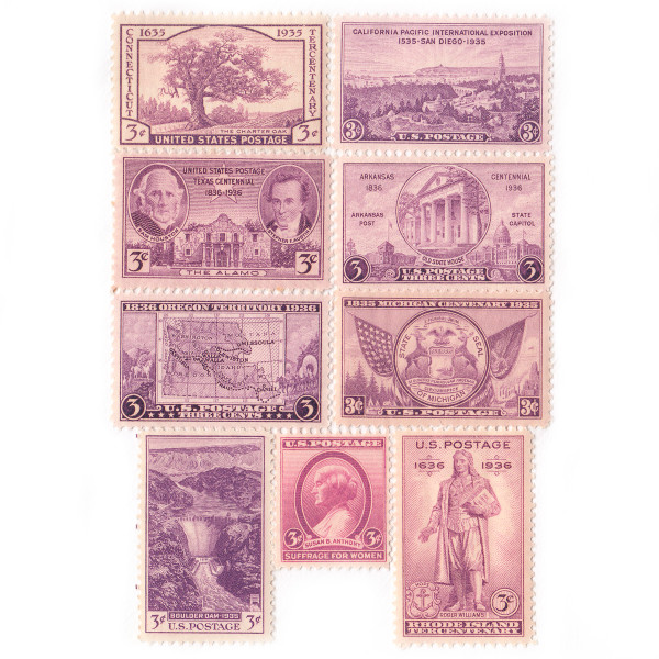 1935-36 Commemorative Mint Year Set