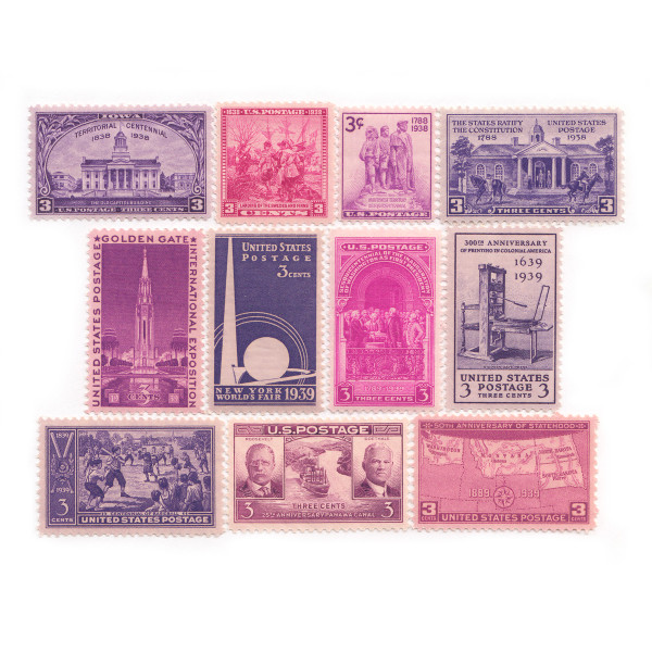 1938-39 Commemorative Mint Year Set