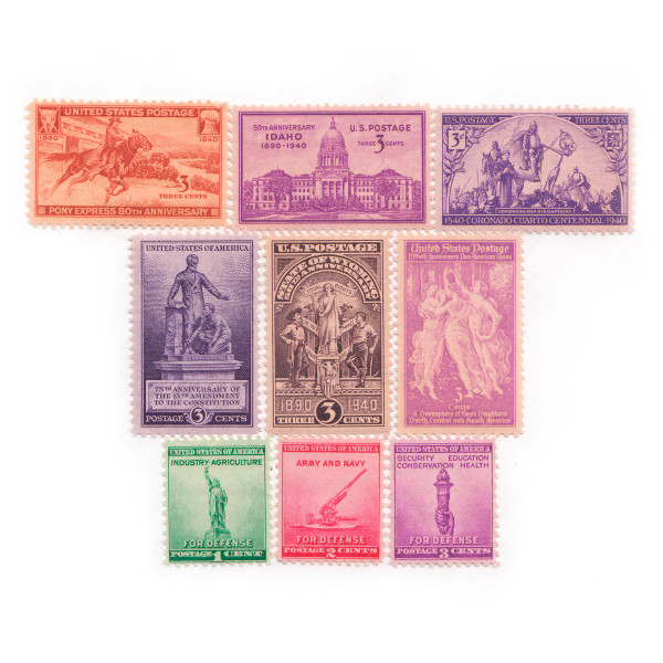 1940 Commemorative Mint Year Set