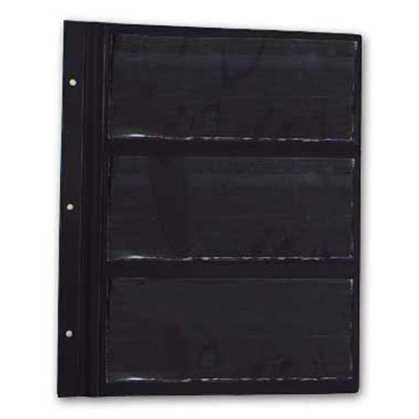 Deluxe Currency Album Refill Pages - Large Notes
