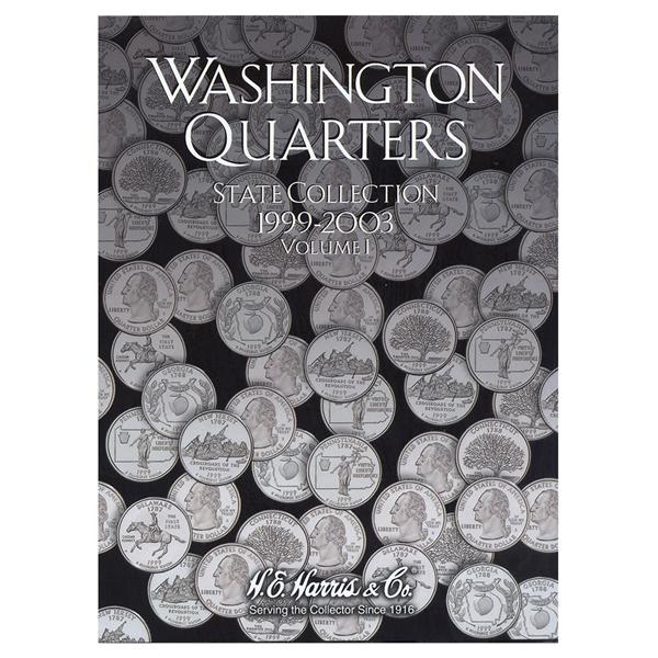 State Series Quarters Folders Vol I 1999-2003