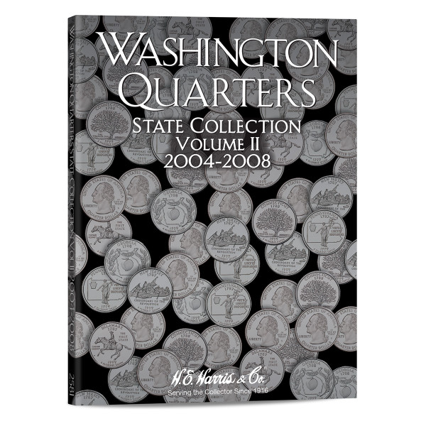 State Series Quarters Folders Vol II 2004-2008