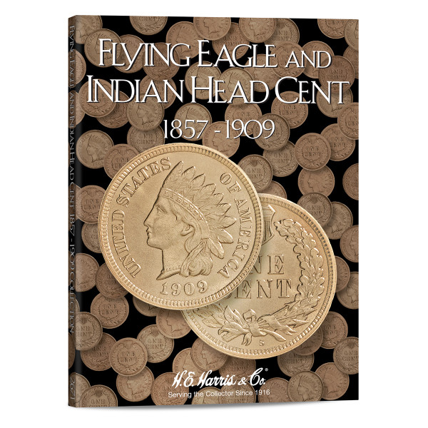 Flying Eagle & Indian Cents Folder 1857-1909