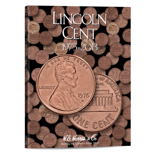 Lincoln Cents #3 Folder 1975-2013