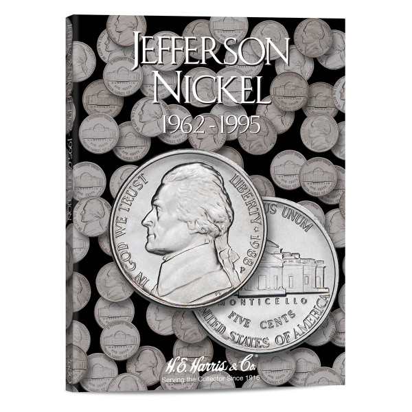 Jefferson Nickel #2 Folder 1962-1995