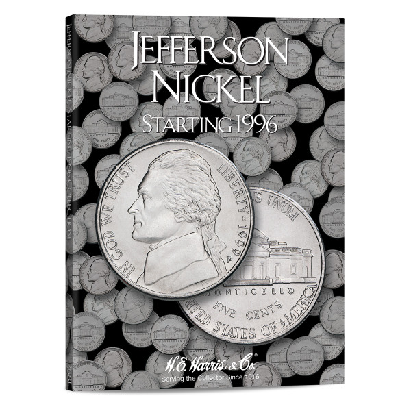 Jefferson Nickel #3 Folder 1996-2015