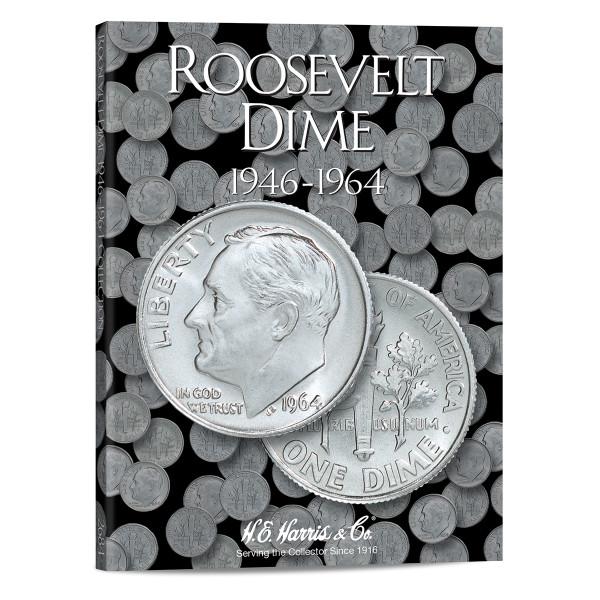 Roosevelt Dimes #1 Folder 1946-1964