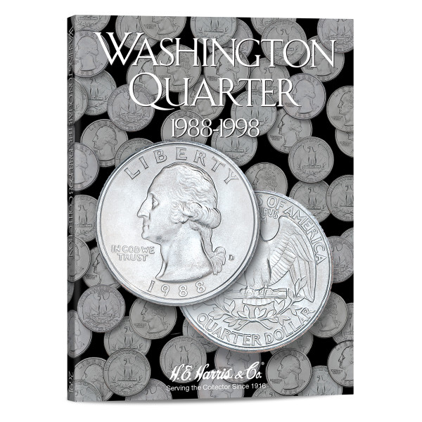 Washington Quarter #4 Folder 1988-1998
