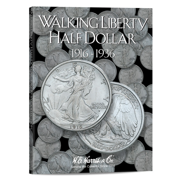 Liberty Walking Half Dollars #1 Folder 1916-1936