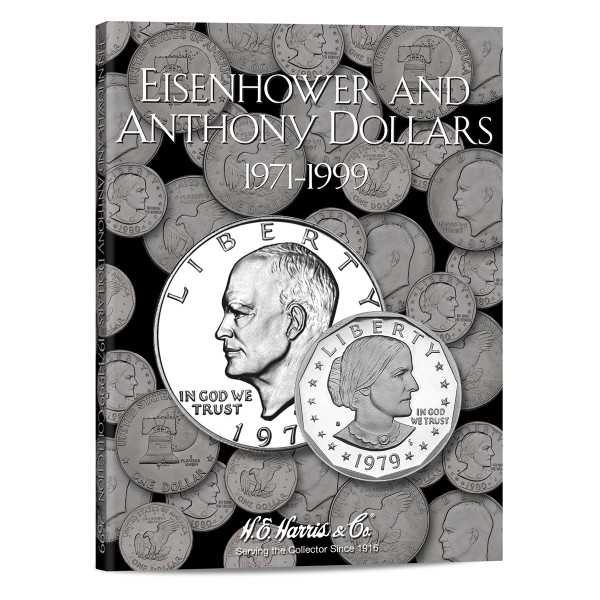 Eisenhower-Anthony Dollar Folder 1971-1999