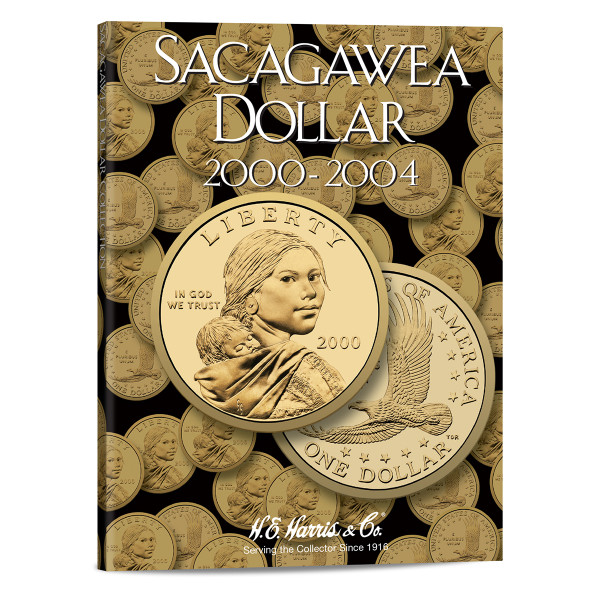 Sacagawea Dollars Folder 2000-2004