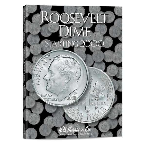 Roosevelt Dimes #3 Folder Starting 2000