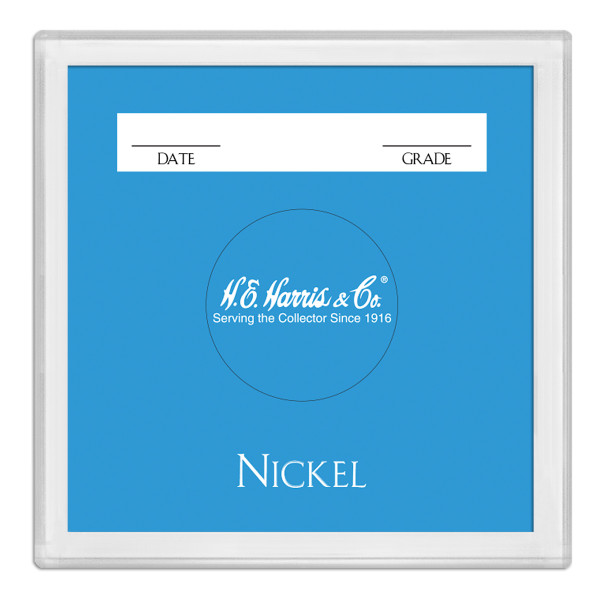 2X2 Color Coded Holder Nickel-25 Per Box