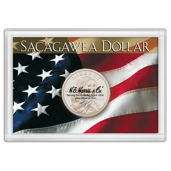 Frosty Case 2X3 Sacagawea Flag Design 1-Hole