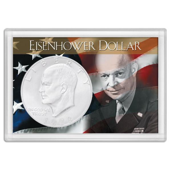 Frosty Case 2X3  Ike Dollar