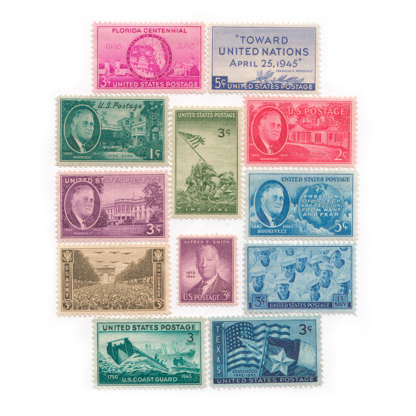 1945-46 Commemorative Mint Year Set