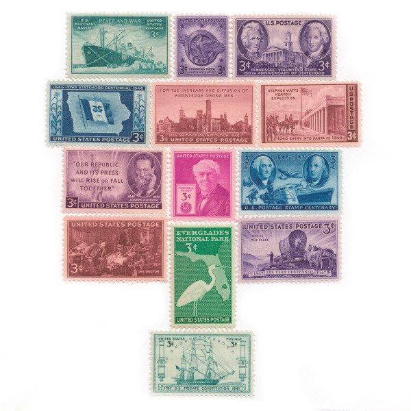 1946-1947 Commemorative Mint Year Set
