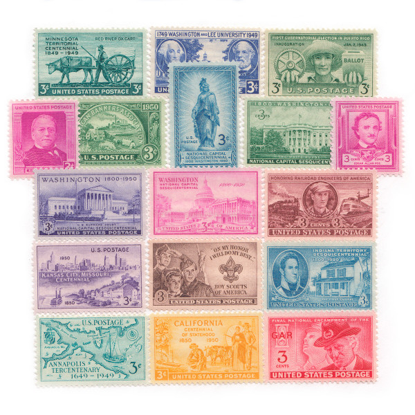 1949-1950 Commemorative Mint Year Set