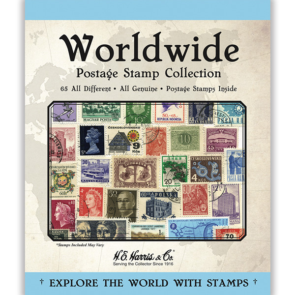Worldwide Assortment Stamp Packet