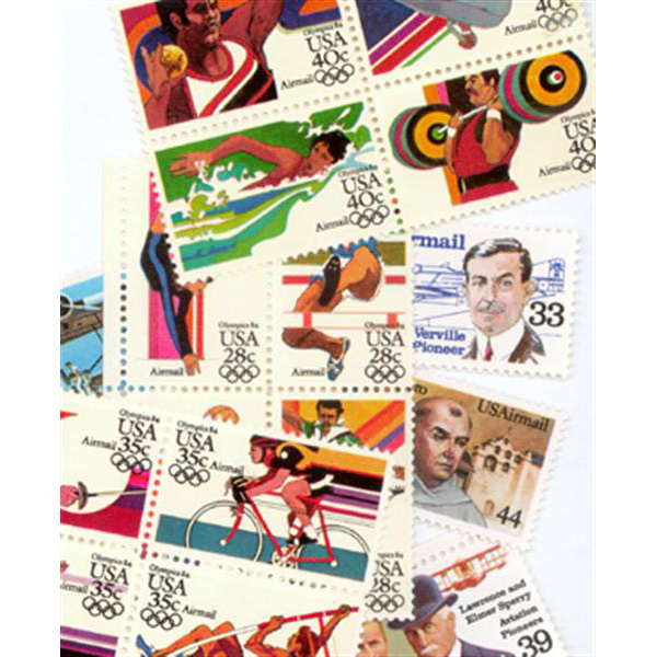 1983-85 Air Post Mint Year Set
