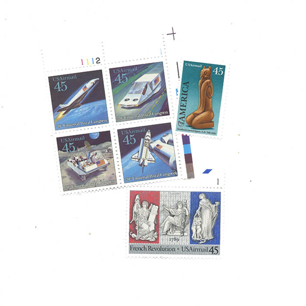 1989 Air Post Mint Year Set