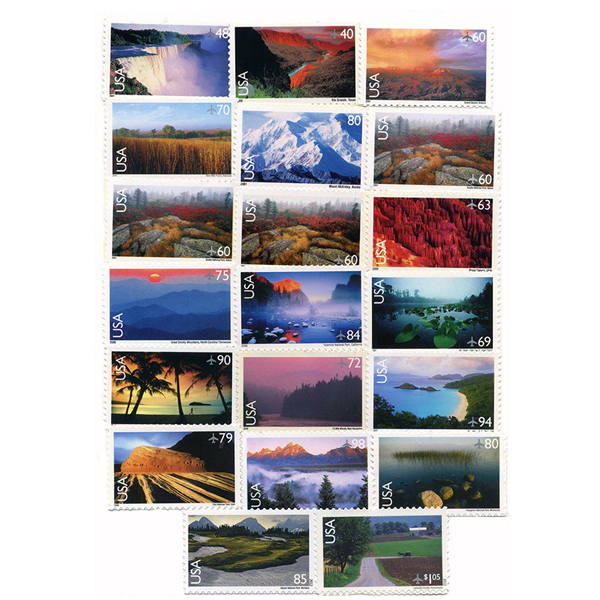1999-2012 Air Post Year Set