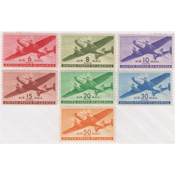 1941-44 Air Post Transport Issue, Mint