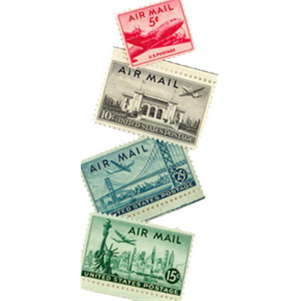 1947 Air Post Mint Year Set