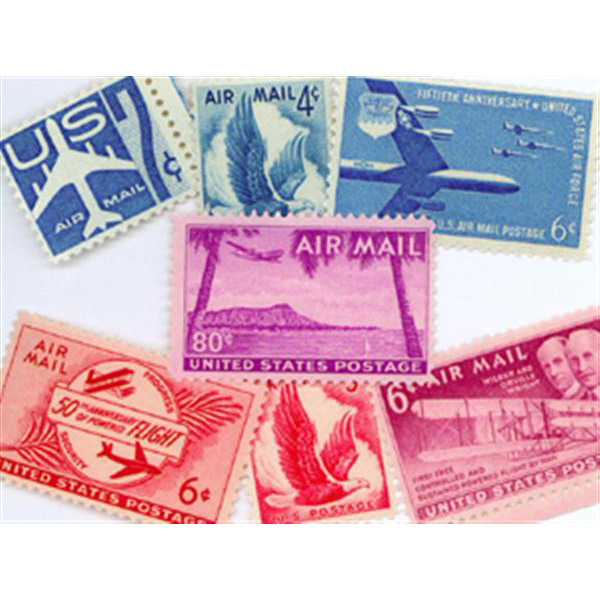 1949-58 Air Post Mint Year Set