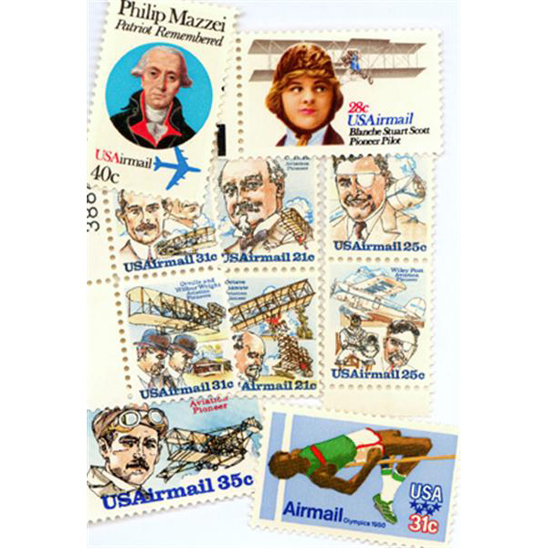 1978-80 Air Post Mint Year Set