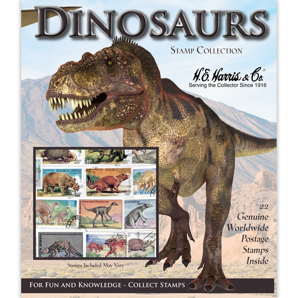 Dinosaurs WW Stamp Collection (22 ct)