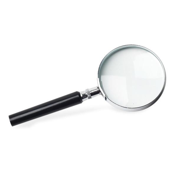 3 inch Round Reader, 6x Magnifier