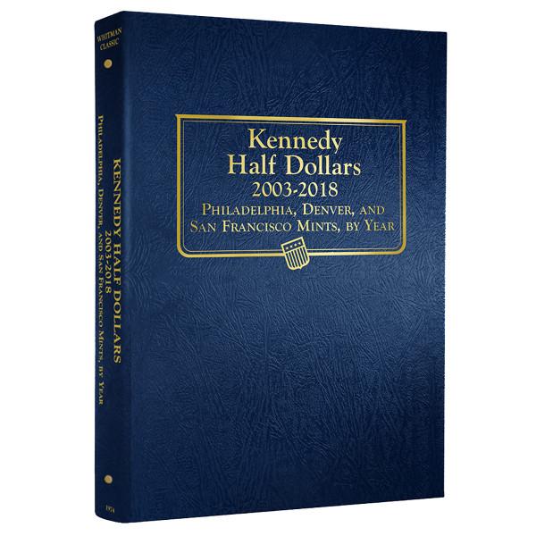 Kennedy Half Dollars, 2003 - 2013