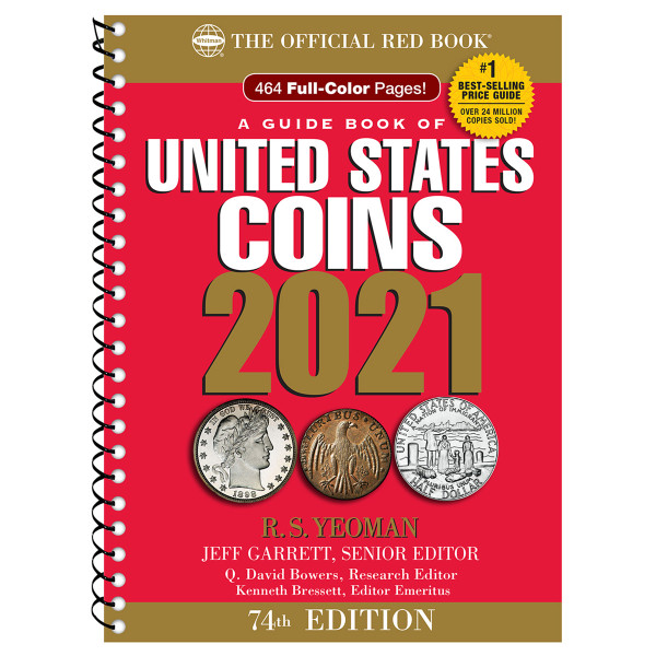 A Guide Book of United States Coins Spiral 2021