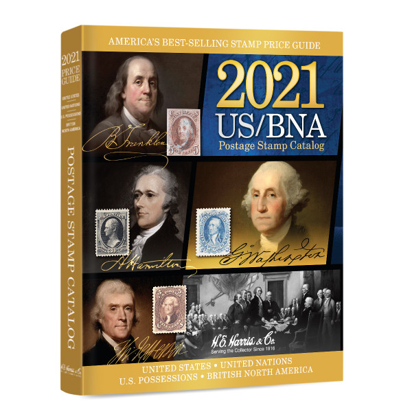 2021 US/BNA Postage Stamp Catalog