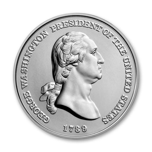 """George Washington """"1789"""" Presidential Medal (GW36363612) 99.9% silver"""