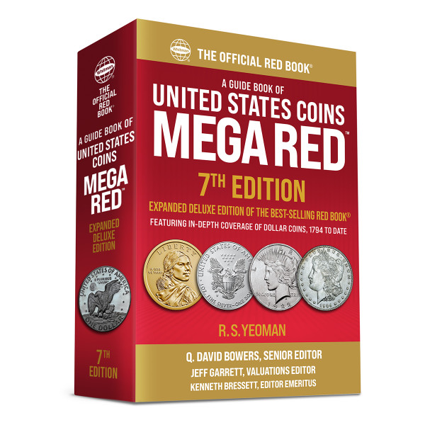 Mega Red: A Guide Book of United States Coins, Deluxe 7th Edition