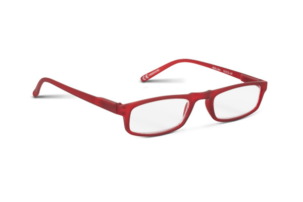 Over The Top Red +2.0 Strength Reading Glasses