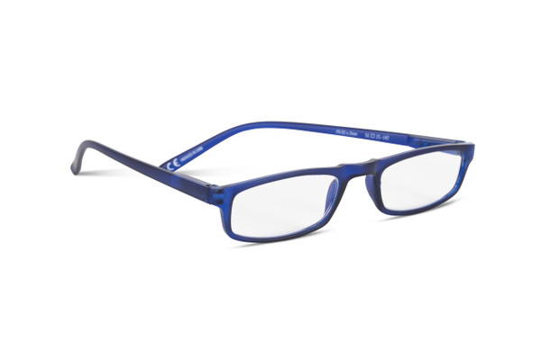 Over The Top Blue +2.5 Strength Reading Glasses