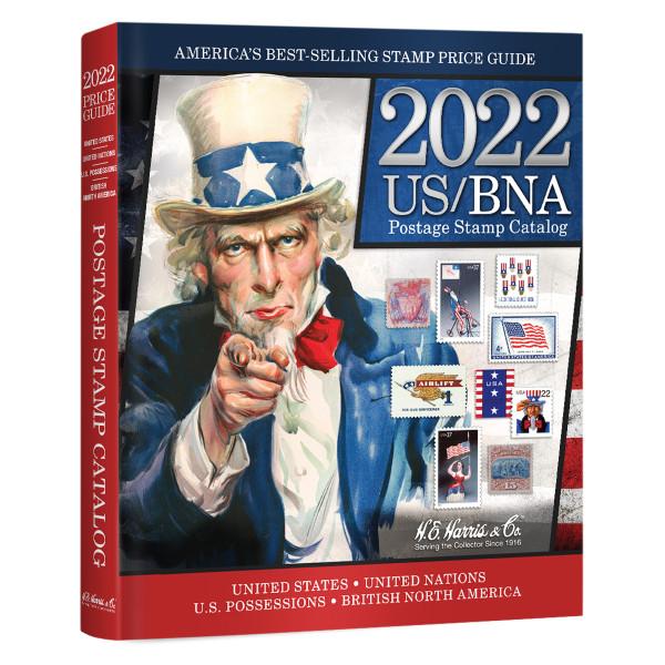 2022 US/BNA Postage Stamp Catalog