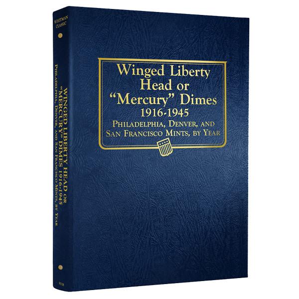 Mercury Dimes 1916-1945