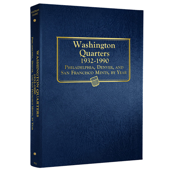 Washington Quarters 1932-1990